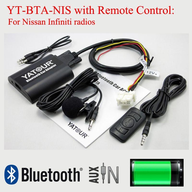 Yatour car digital MP3 interface BTA with Remote control for Nissan Infiniti radios