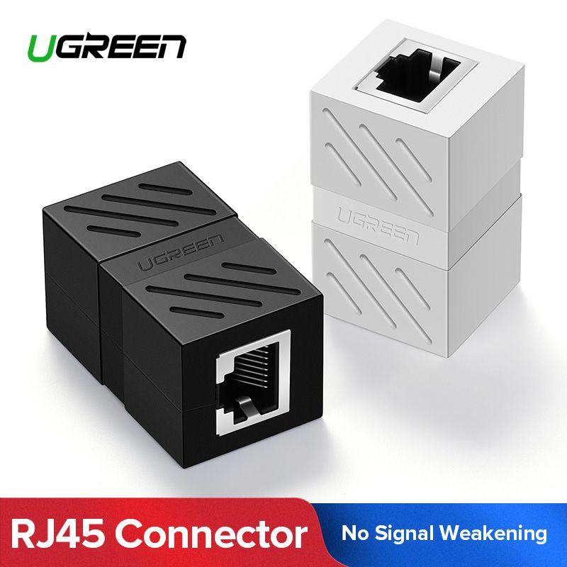Ugreen RJ45 Stecker Cat7/6/5e Ethernet Adapter 8P8C Netzwerk Extender Verlängerung Kabel für Ethernet Kabel Weiblichen zu weibliche