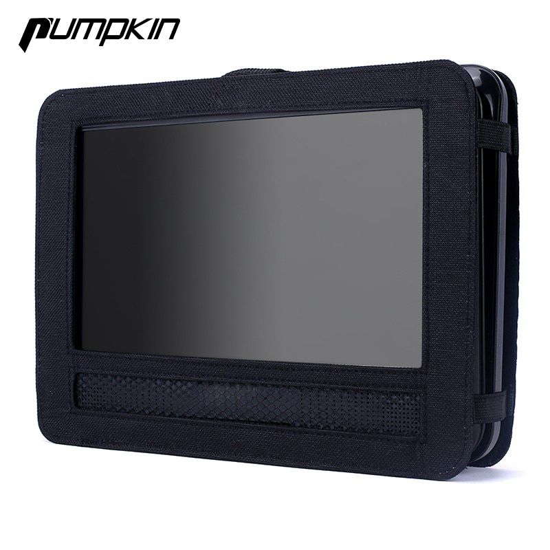 7 Inch Portable Case Holder For Car DVD Player Headrest Mount Strap Protective Cover Car Pillows Car headrest Monitor Cover