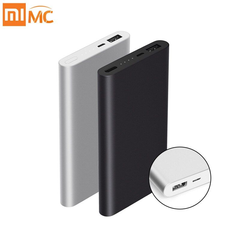 Original 10000mAh Xiaomi Mi Power Bank 2 Quick Charge External Battery Supports 18W Fast Charging For Android IOS Mobile Phones