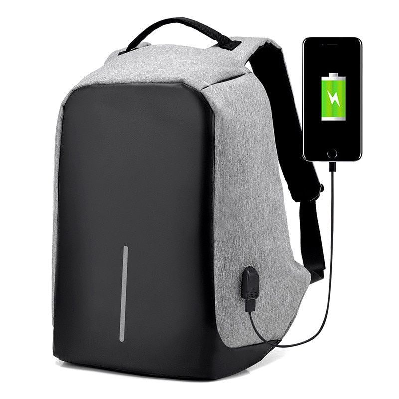 Multifunction USB charging Men Laptop Backpacks For Teenager Fashion Male Mochila Leisure Travel backpack anti thief