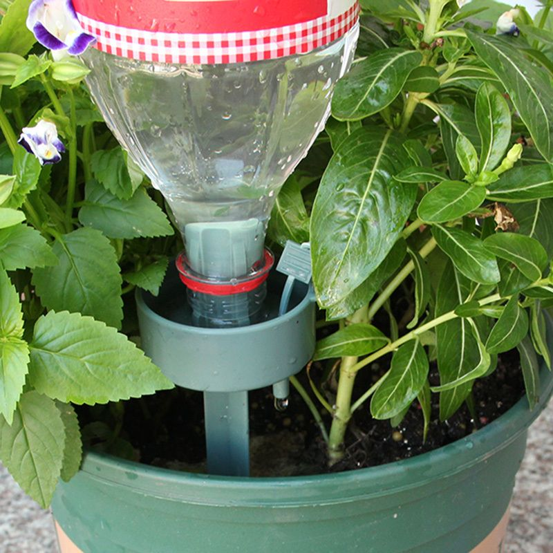 New Automatic Drip irrigation self Watering Device Plant Flower Drip Sprinkler waterer Bottle Irrigation System garden tool