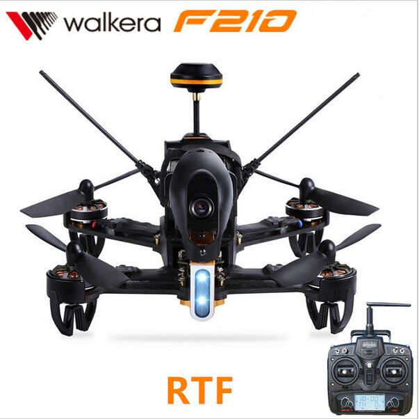 Original Walkera F210 Professional Racer Drone with 700TVL Camera 5.8G FPV F3 Flight Controller with DEVO7 Transmitter BNF RTF