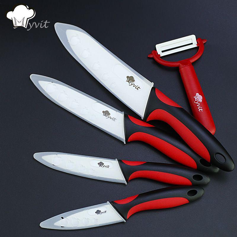 Кухня Ножи Керамика Ножи Пособия по кулинарии набор 3