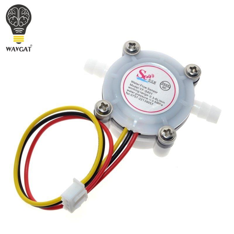 Neue Heiße 1 stücke Wasser Kaffee Flow Sensor Schalter Meter Durchflussmesser Zähler 0,3-6L/min