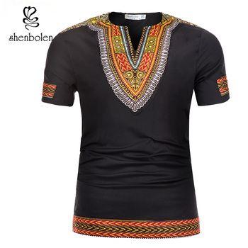 Dashiki mens top African men clothes 2019 african clothing for men dashiki shirt