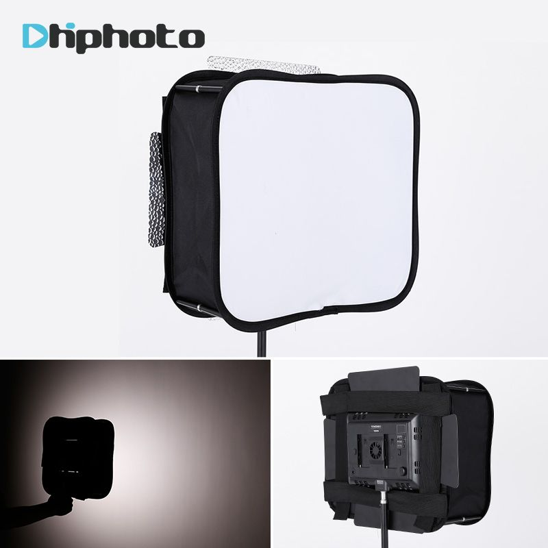 SB600/SB300 Studio Softbox diffuseur pour YONGNUO YN600L II YN900 YN300 YN300 III Air Led panneau de lumière vidéo pliable filtre souple