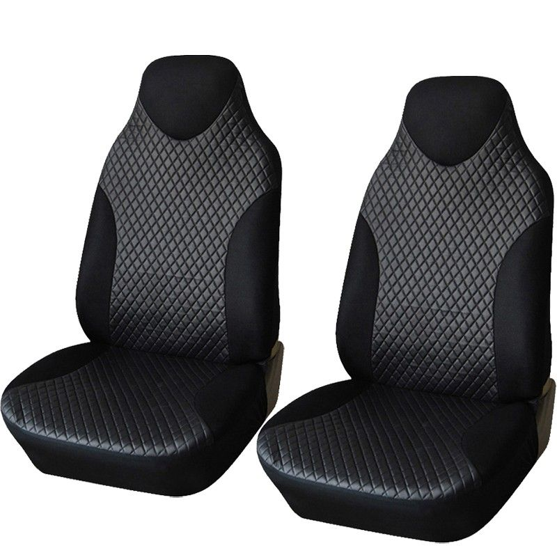1 Pair Car Seat Cover PU Leather Universal Car Seat Covers Car Styling Covers For Auto Front Seat Protector Interior Accessories