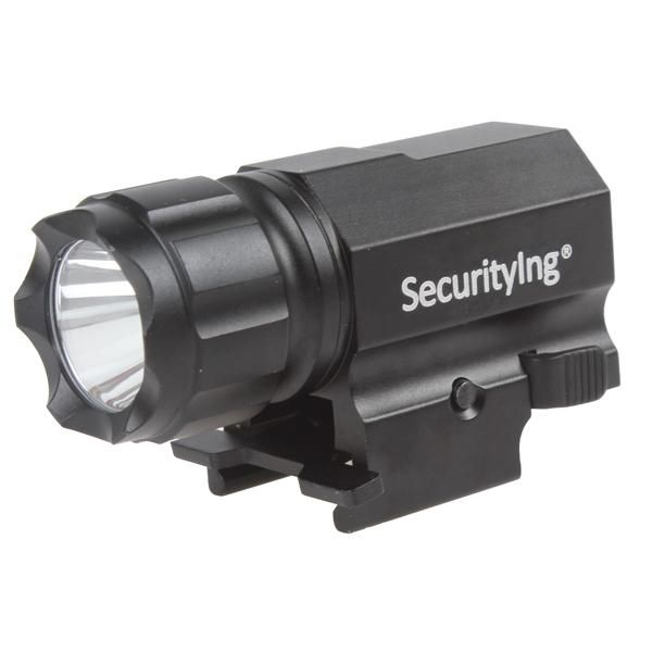 Vente SecurityIng 600 Lumens R5 LED tactique pistolet lampe de poche P05 conception compacte et légère pratique à transporter