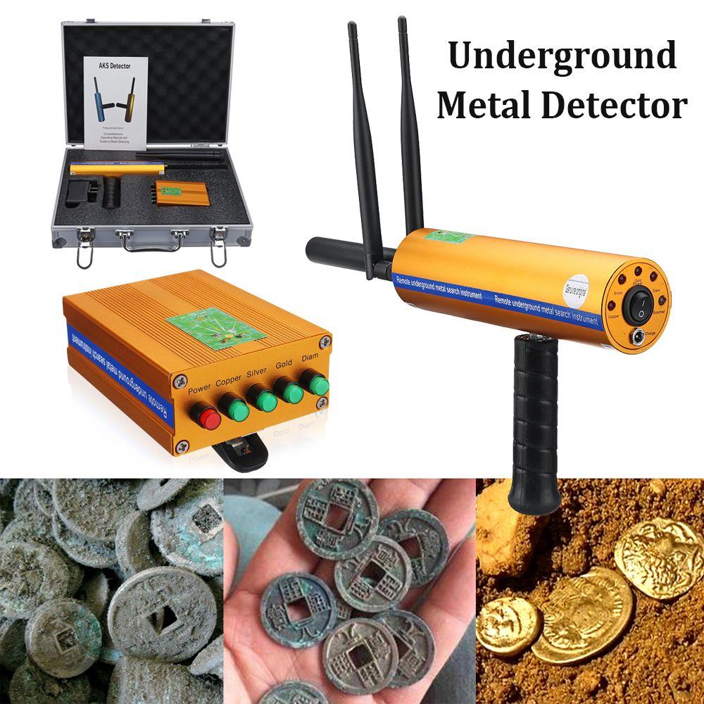 1 satz Doppel antenne AKS 3D Metall Detektor Verbesserte version Long Range Metall Für Outdoor Detektor gold silber kupfer