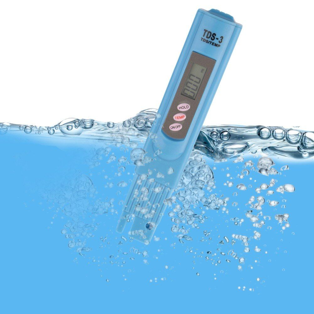 1 Stück Tragbare TDS LCD Digital 0-9990ppm Wasser Qualität Teststift Härte Analyzer Stilvolle Worldwide Shop