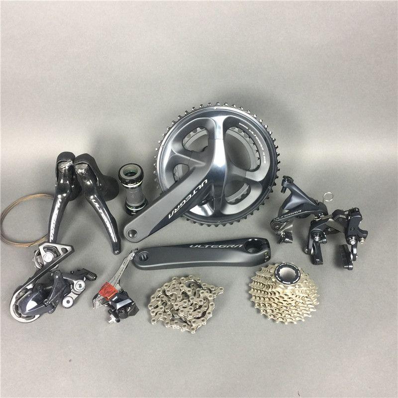 Direct Mount Brakes!!Shimano R8010 8010 Ultegra Road Bike Groupset 170/172.5/175mm 50-34 53-39 Bicycle Group Set 2*11 speed