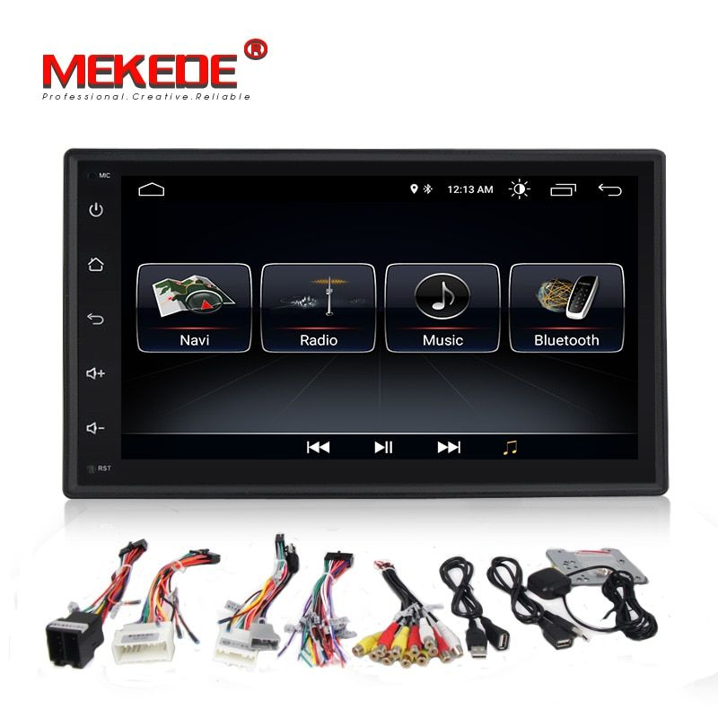 Car DVD GPS android 8.0 Player 2 din radio New universal GPS Navigation Multimedia For Nissan Toyota Volkswagen Mazda BYD Kia VW