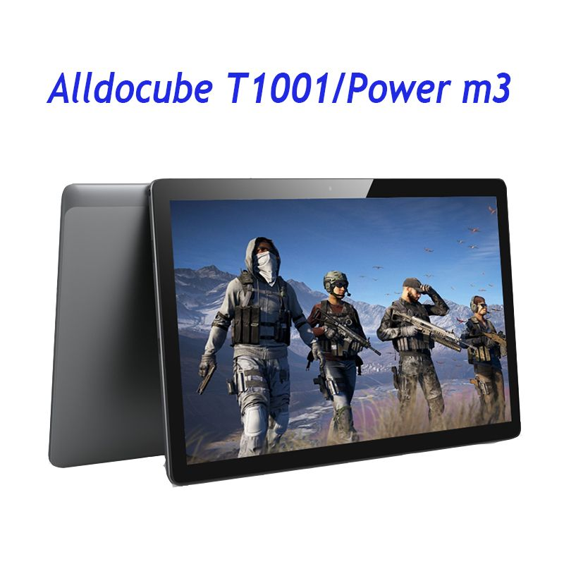 ALLDOCUBE Power M3/T1001 4G Phone Tablet PC 8000mah Quick Charge 10.1 Inch IPS Tablets Android 7.0 MT6753 Octa Core 2GB/32GB