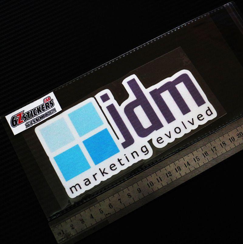 Original Japanese D1 JDM TEIN shock absorber damping reflective stickers car brand