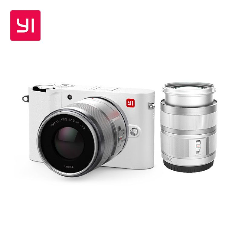 YI M1 Mirrorless Digital Camera Prime Zoom Lens LCD Minimalist International Version 20MP Video Recorder 720RGB Digital Cam