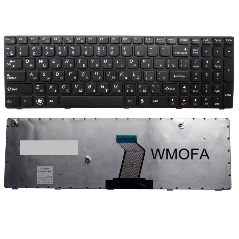 Russe POUR LENOVO V570 V575 Z570 Z575 V570C B570 B570A B570E V580C B570G B575 B575A B575E B590 B590A RU B580 clavier d'ordinateur portable