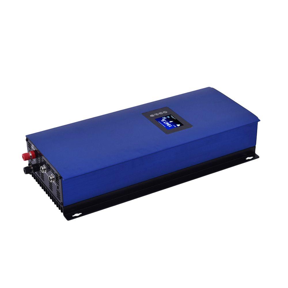 2000 Watt MPPT rein sinus Solarrasterfeldriegelinverter mit interne limiter, batterieentladung modus DC45-90V zu AC230V