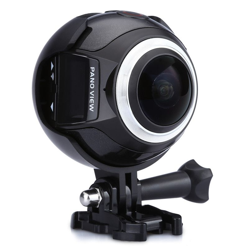 360 Camera Excelvan Action Camera Ultra HD WIFI 3K 30fps 16MP Sport Action Camera 360 Degree  Mini Panoramic Video 3D VR Camera