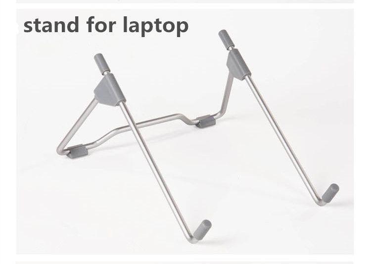 2017 Hot Sale Cooler Stand for Laptop Suporte Notebook 14 Laptop Radiator Mount 15 Computer Portable Metal Bracket Base 10 12 13