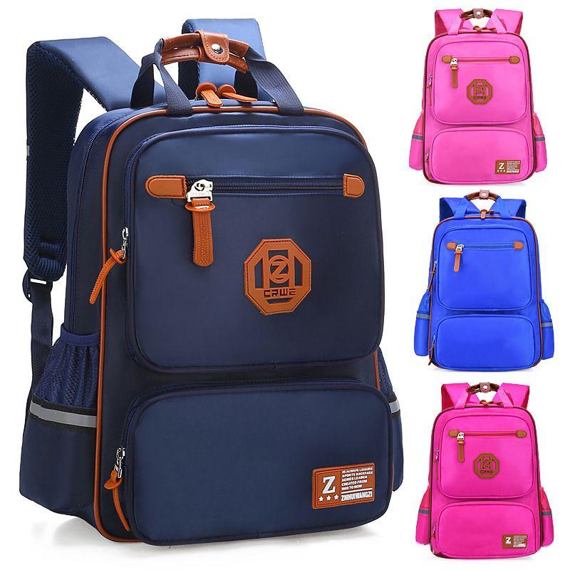 Sacs d'école primaire pour enfants garçons sacs à dos imperméables angleterre Style sac à dos scolaire filles cartable cartable orthopédique