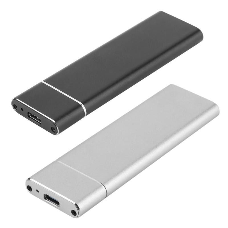 USB 3.1 to M.2 NGFF SSD Mobile Hard Disk Box Adapter Card External Enclosure Case for m2 SATA SSD USB 3.1 2230/2242/2260/2280