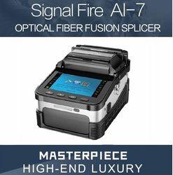 AI-7 Automatique Intelligent Fiber Optique Fusion Colleuse FTTH Fiber Optique Épissage De Soudage Machine Outils