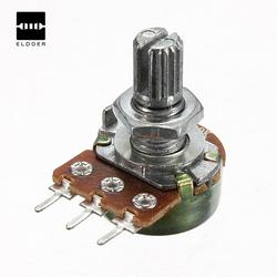 Быстро раскупаемый 1/2/5/10/500K Ом потенциометры линейный Оптовая продажа Новый электрический блок потенциометры
