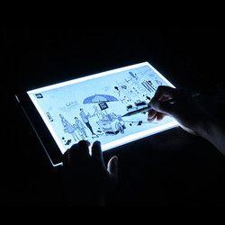 Светодиодный освещенные чертежная доска ультра A4 чертежный стол светильник в виде планшета Pad книга набросков модных костюмов чистый холст...
