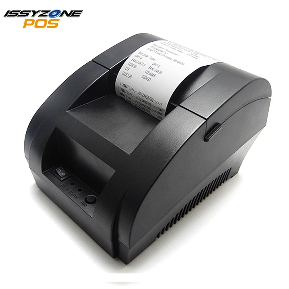 Imprimante thermique d'issyzonepos Mini imprimante de reçu bon marché d'usb de 58mm pour le Restaurant de supermarché I58TP04 imprimante de Logo ESC/POS
