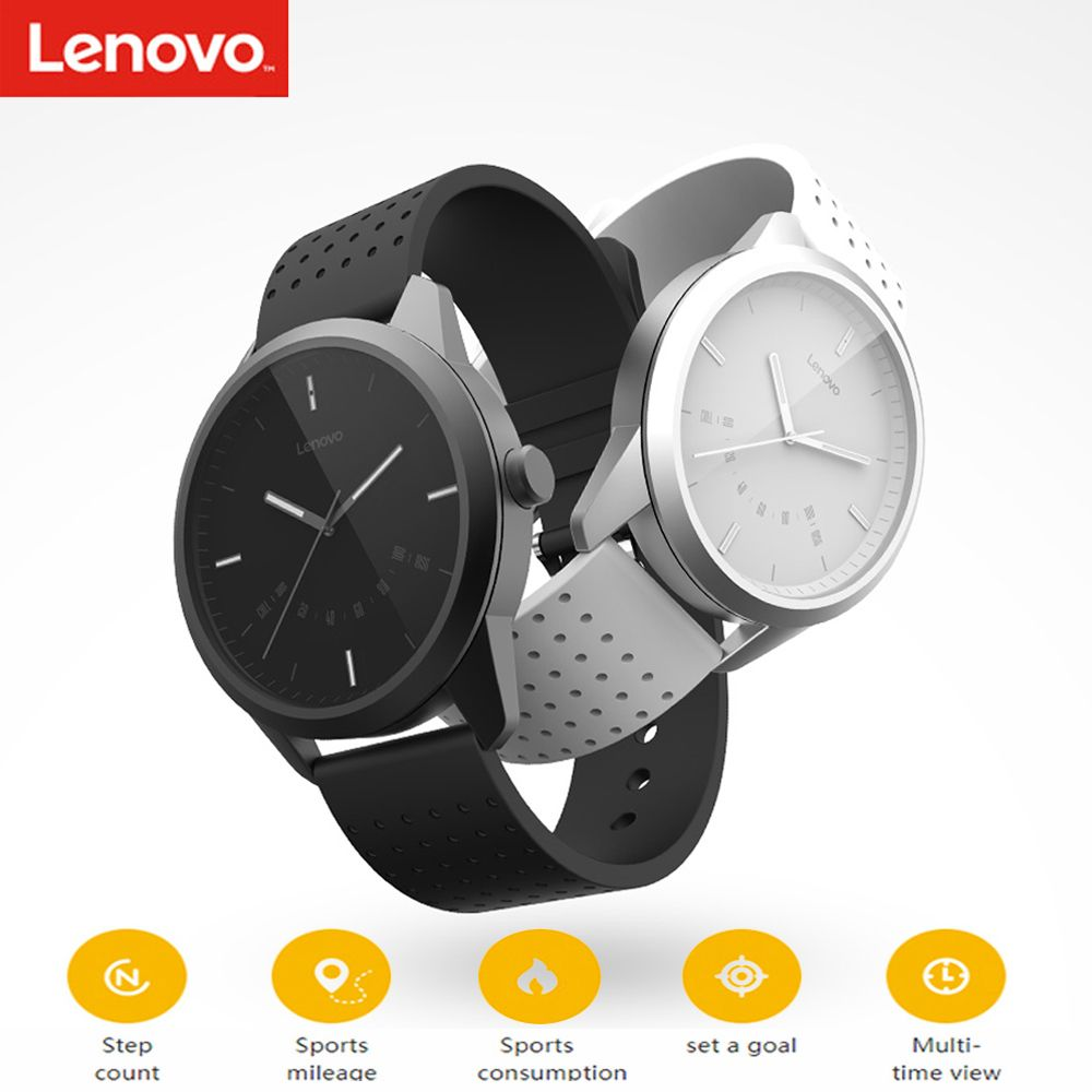 Lenovo Watch 9 Bluetooth Smartwatch Alarm Sleep Monitor Reminder Fitness Tracker 50M Waterproof Smart Watch For IOS Android