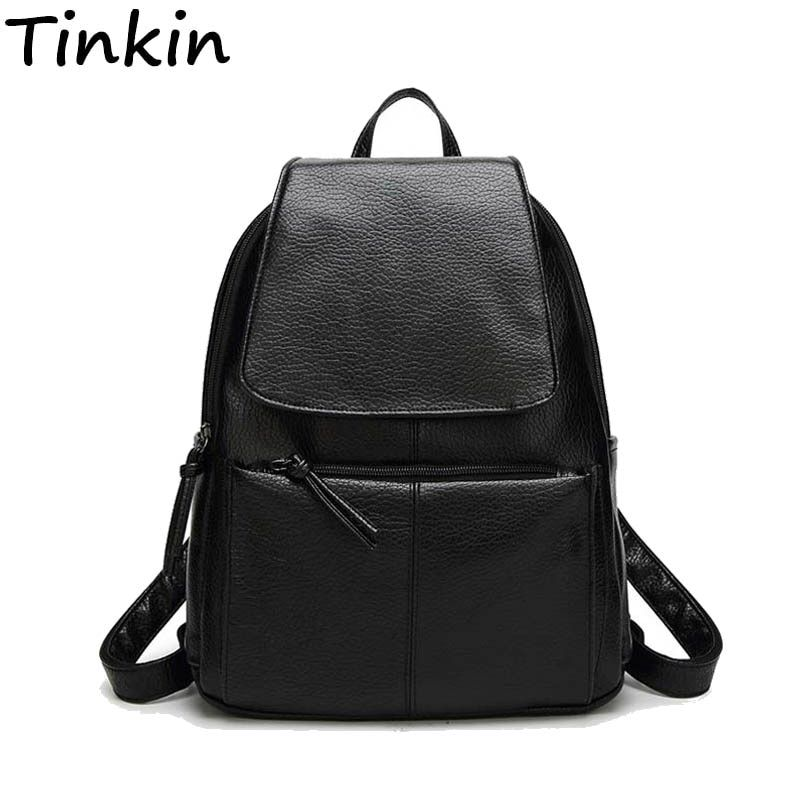 Women Cost-effective Backpack Vintage College Student <font><b>School</b></font> Backpack Bags for Teenagers Vintage Mochila Casual Rucksack Daypack
