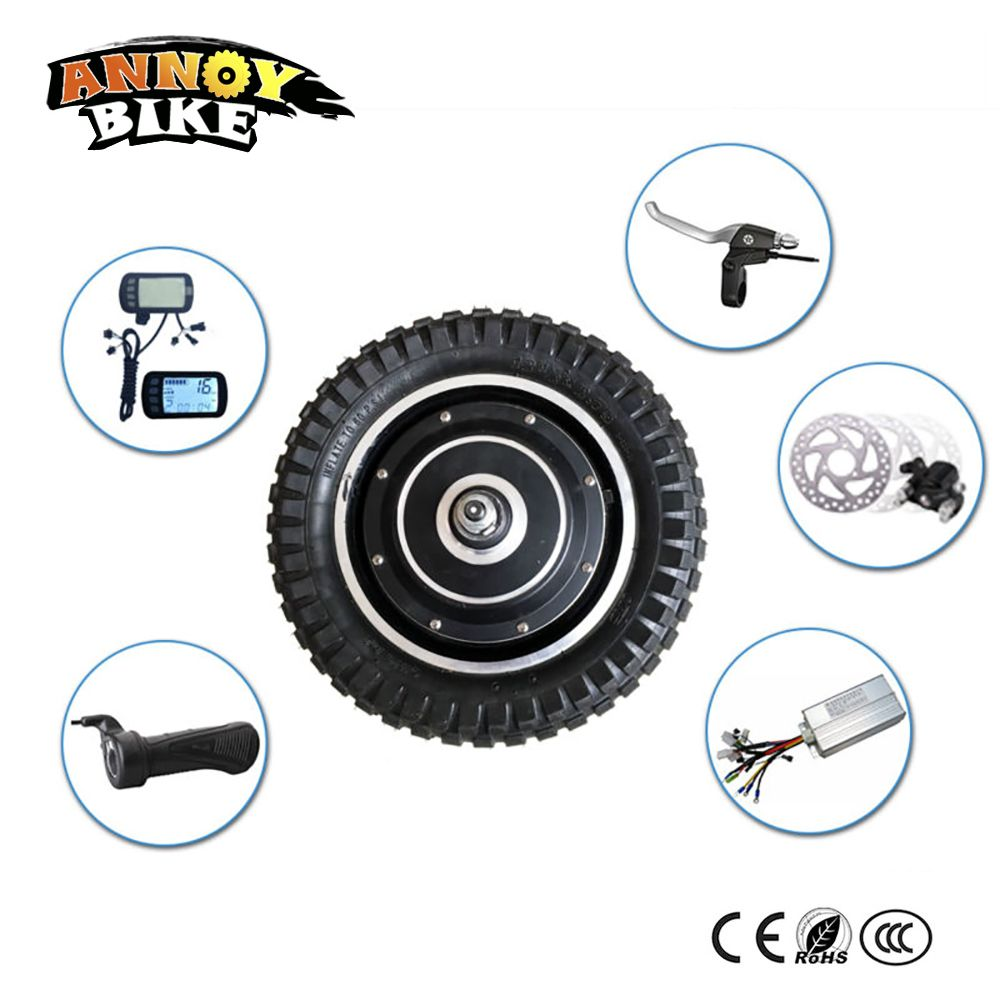 12 inch motor wheel for scooter 36v 250W/350W bicicleta electrica hub motor kits electric bike kit with bicycle accessories