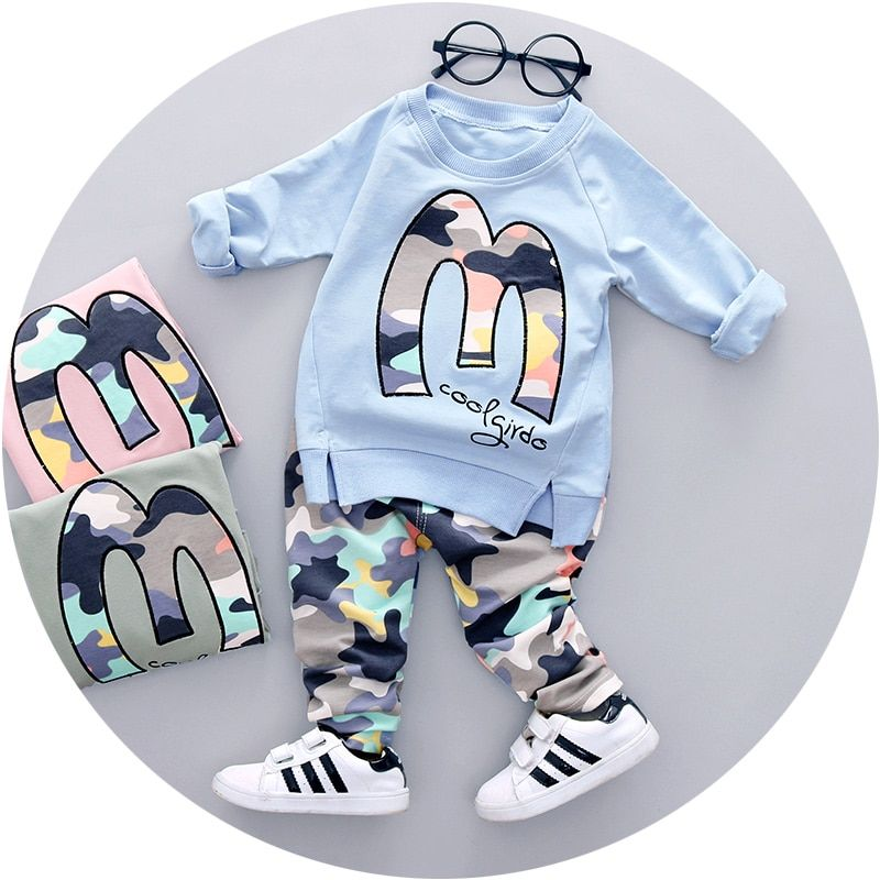 Hot Sale 2018 Spring Autumn new baby boys clothes latest style high quality boy clothing set A057-60