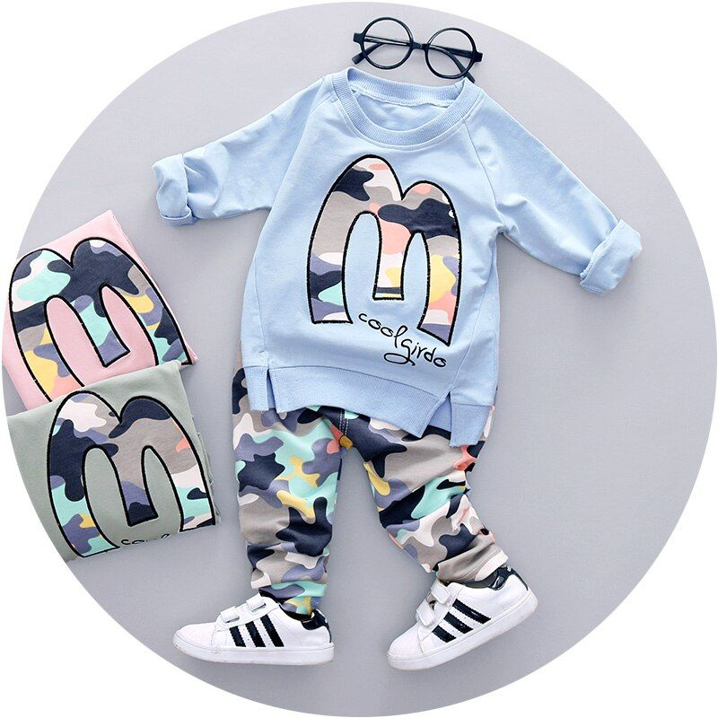 Hot <font><b>Sale</b></font> 2018 Spring Autumn new baby boys clothes latest style high quality boy clothing set A057-60