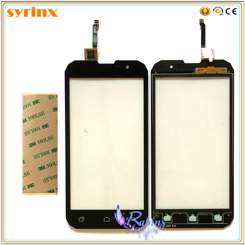 SYRINX 5.0 '' Touch Screen Digitizer For Geotel G1 3G Front Glass Lens Mobile Phone Touch Panel Sensor 3m Tape Touchscreen
