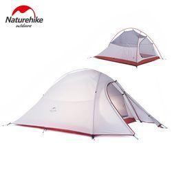 Naturehike Cloud Up Seri 1 2 3 Orang Berkemah Tenda Luar Ultralight Kamp Peralatan Gigi