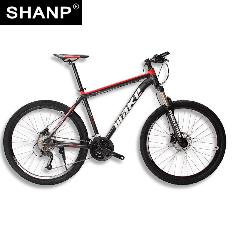 MAKE Mountain Bike Aluminum Frame 17 19 Shimano 27 Speed 26 27,5 Wheel Hydraulic/Mechanical <font><b>Brake</b></font>