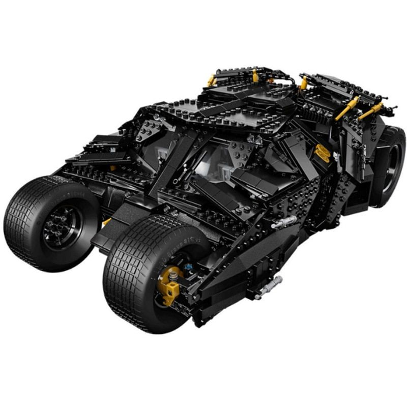 Lepin 1969Pcs Super Heroes Batman 76023 Chariot The Tumbler Batmobile Batwing Building Blocks Bricks Education Toys Gifts 7111