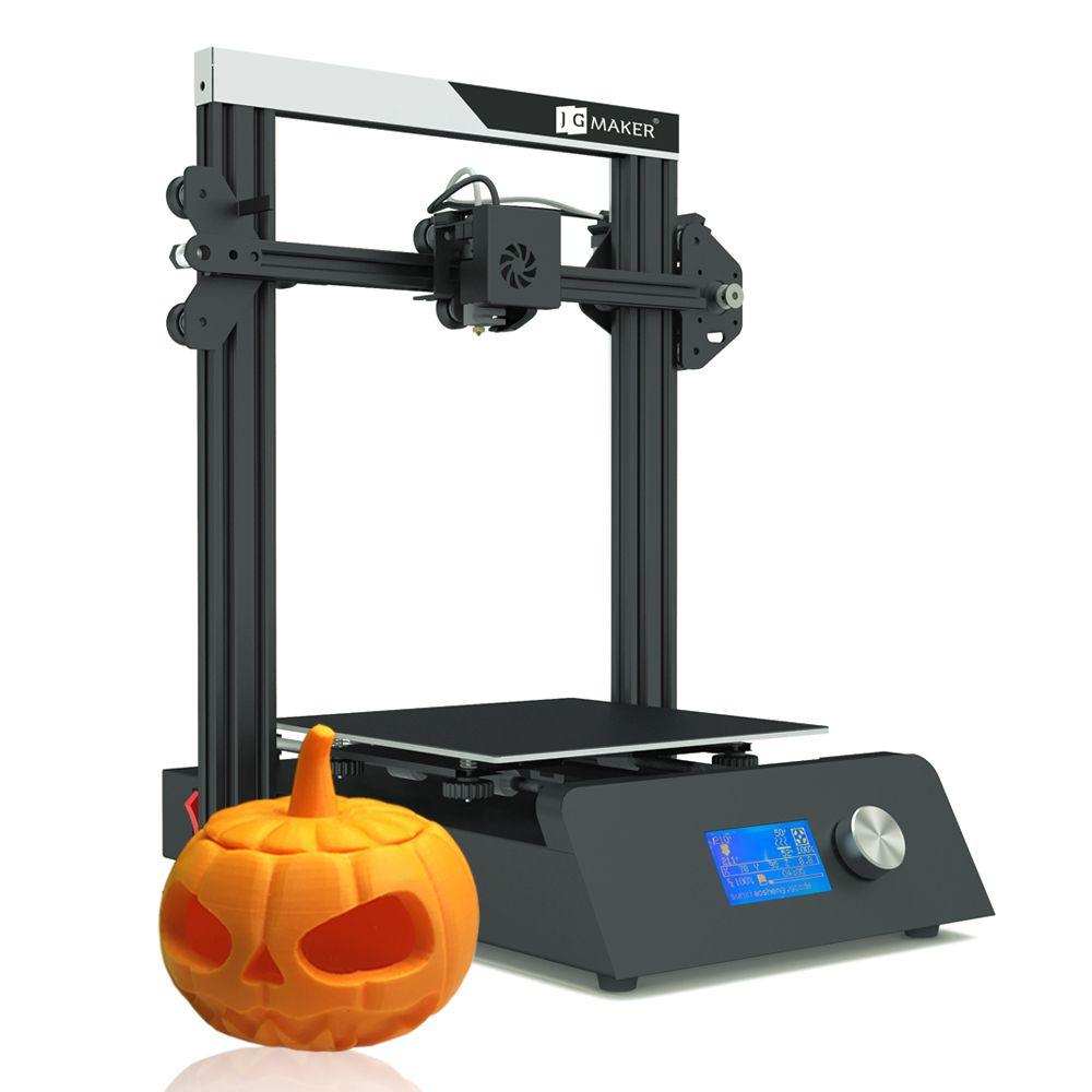 JGAURORA 2019 3D Drucker Magie Drucker Volle Metall DIY KIT Große Bauen Größe 220*220*250mm 3D ducker Lebenslauf Power Off Kostenloser Geschenke