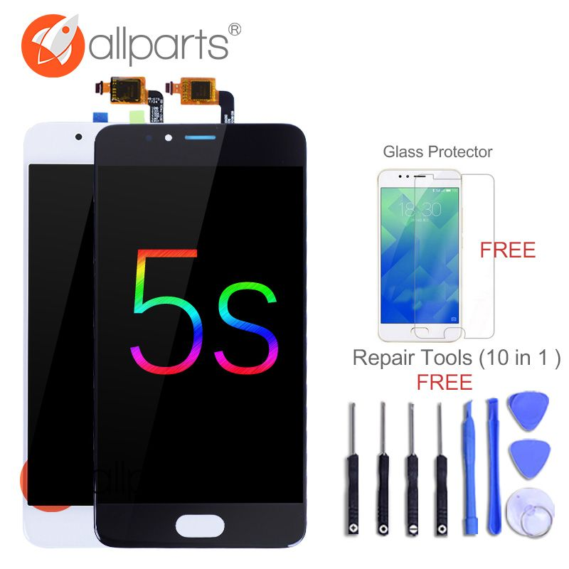 Tested 5.2'' <font><b>1280x720</b></font> Display For Meizu M5S LCD Meilan 5S Touch Screen Digitizer Replacement Parts For Meizu M5S LCD M612H M612M