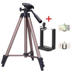 Weifeng WT3130 треножный Штатив для телефона кронштейн подставка крепление монопод Аксессуары для укладки Штатив для смартфона камера DLSR