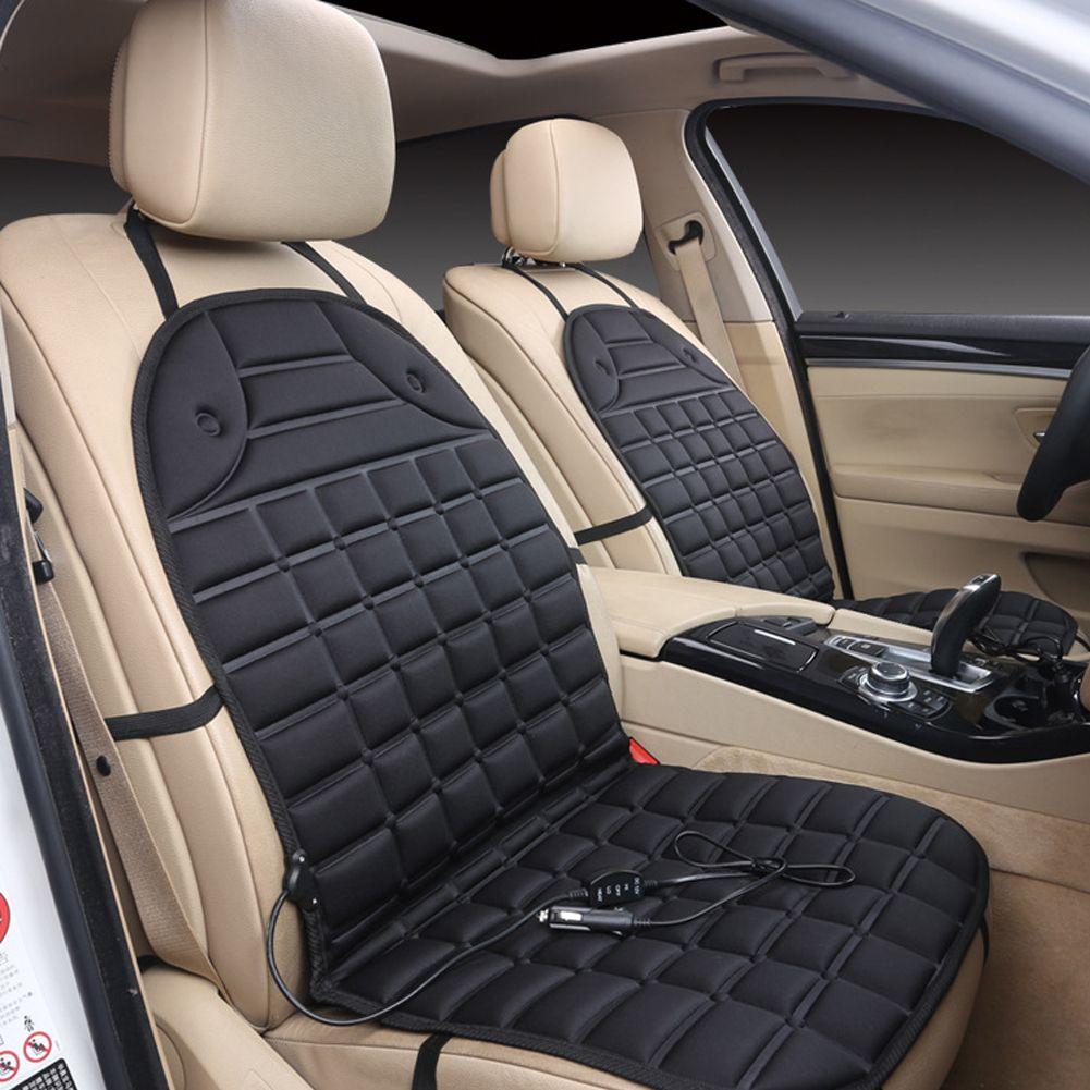 Теплая автокресло Подушки Чехлы для мангала холодные дни с подогревом сиденья авто 12 В сиденье нагреватель грелку поставки авто