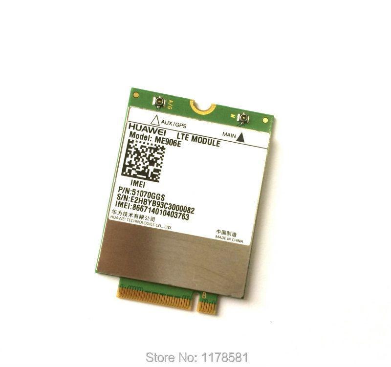 Unlocked ME906E + 2PCS  IPX4 NGFF M.2 Antenna 100% Original FDD LTE 4G WCDMA GSM surpport GPS Module stock
