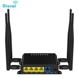 Cellular 3G 4G Router Wi-Fi Modem Repeater WiFi With SIM Card Slot 128MB RAM MT7620A Openwrt GSM/WCDMA/FDD/TDD LTE Router WE826