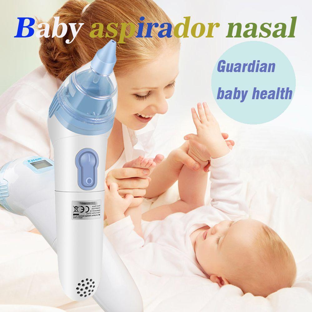 Électronique nettoyeur de nez Bébé Aspirateur Nasal 20 pièces Hygiénique Jetable Caps Numérique Nasale Cleaner pour Bébé 0-3 Ans