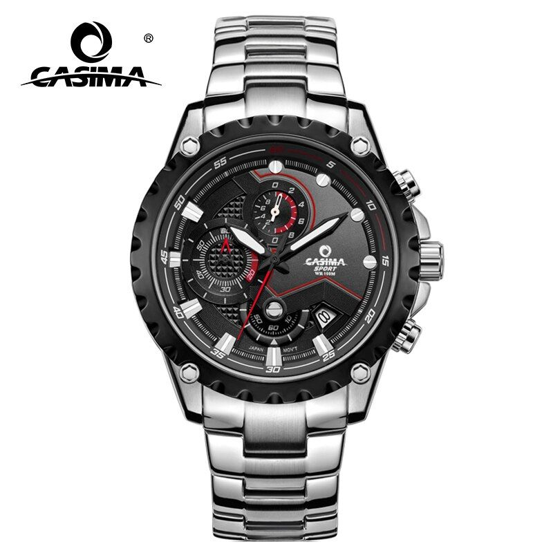 CASIMA men wrist watch <font><b>sport</b></font> men watches fashion quartz watch luminous waterproof watch men multifunction relogio mascul # 8203