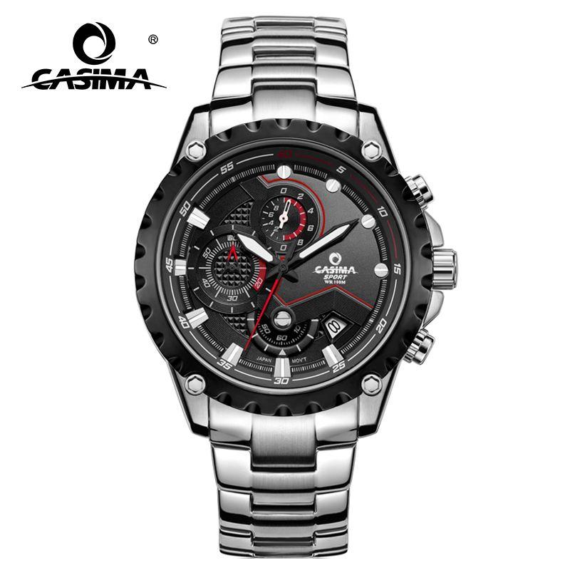 CASIMA men wrist watch sport men watches fashion quartz watch luminous waterproof watch men multifunction relogio mascul # 8203