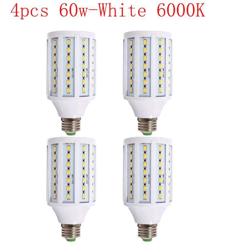 4PCS 60w Photo Bulb LED for Photo Studio Video light diffuser soft box lighting kit E27 6000K Corn LED