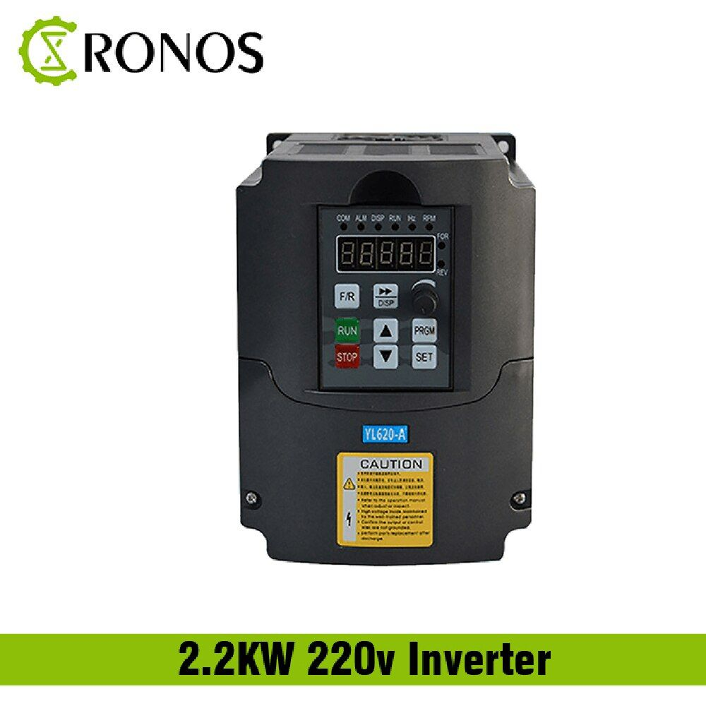 220 V 1.5KW 2.2KW Einphasen-eingang und 3 Phase Ausgang Frequenz Konverter/Einstellbare Geschwindigkeit Stick/Frequenz Inverter /VFD